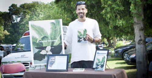 Derek Mascarenhas, author of Coconut Dreams